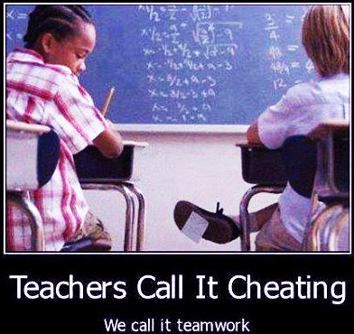 Funny Exam cheating jokes