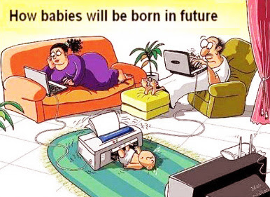 funny babies born in future